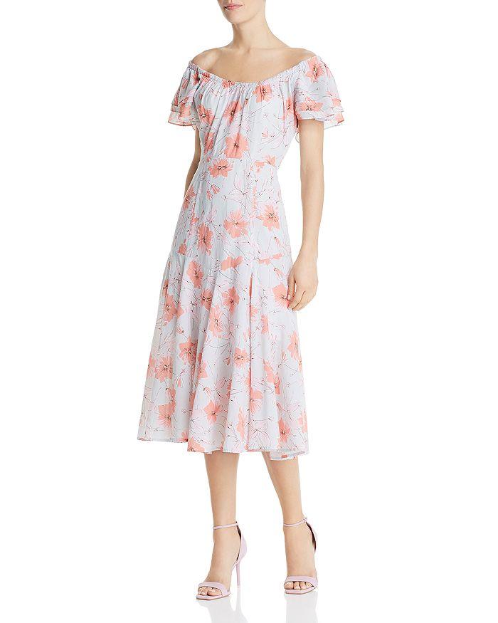 Rebecca Taylor - Louise Floral Midi Dress