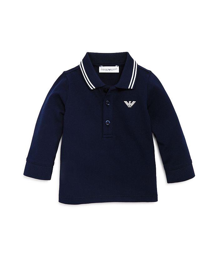 Armani - Boys' Long Sleeve Polo Shirt - Baby