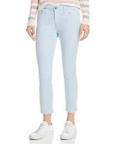 AG - Prima Crop Skinny Jeans in Distilled Blue