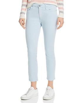 c507a74f81 AG - Prima Crop Skinny Jeans in Distilled Blue ...