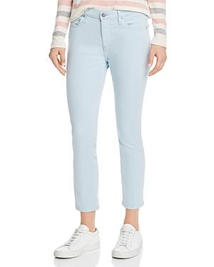 Ag Prima Crop Skinny Jeans in Distilled Blue