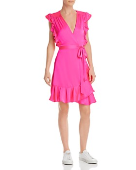 7 For All Mankind - Ruffle-Trimmed Wrap Dress