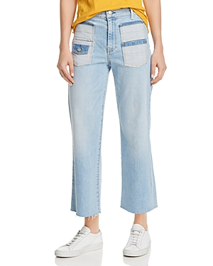 7 For All Mankind Alexa Cropped Jeans in Roxy Lights