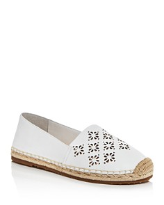 kate spade new york - Women's Garcia Floral Perforated Espadrille Flats