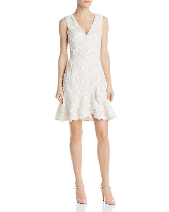 Rebecca Taylor - Nicola Floral-Embroidered Dress