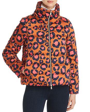 Herno - Reversible Leopard Print Down Coat