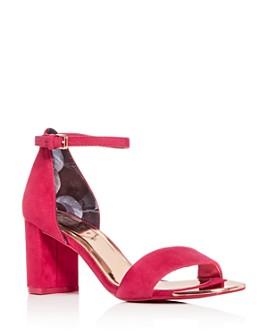 Ted Baker - Women's Sheah Block-Heel Sandals