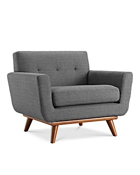 Modway - Engage Upholstered Fabric Armchair