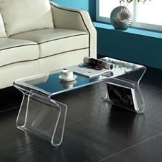 Modway - Magazine Acrylic Coffee Table