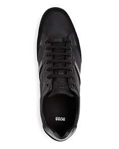 BOSS - Men's Saturn Mixed Media Low-Top Sneakers