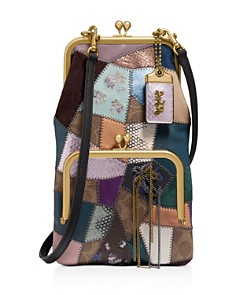 COACH - 1941 Signature Mixed Media Patchwork Frame Crossbody
