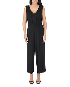 B Collection by Bobeau - Amelie Sleeveless Wide-Leg Knit Jumpsuit