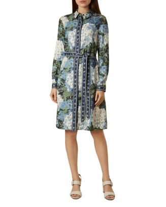 Hydrangea Shirt Dress by Hobbs London