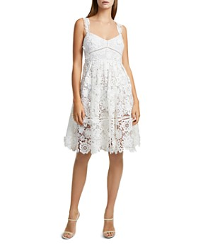 FRENCH CONNECTION - Alicia A-Line Lace Dress