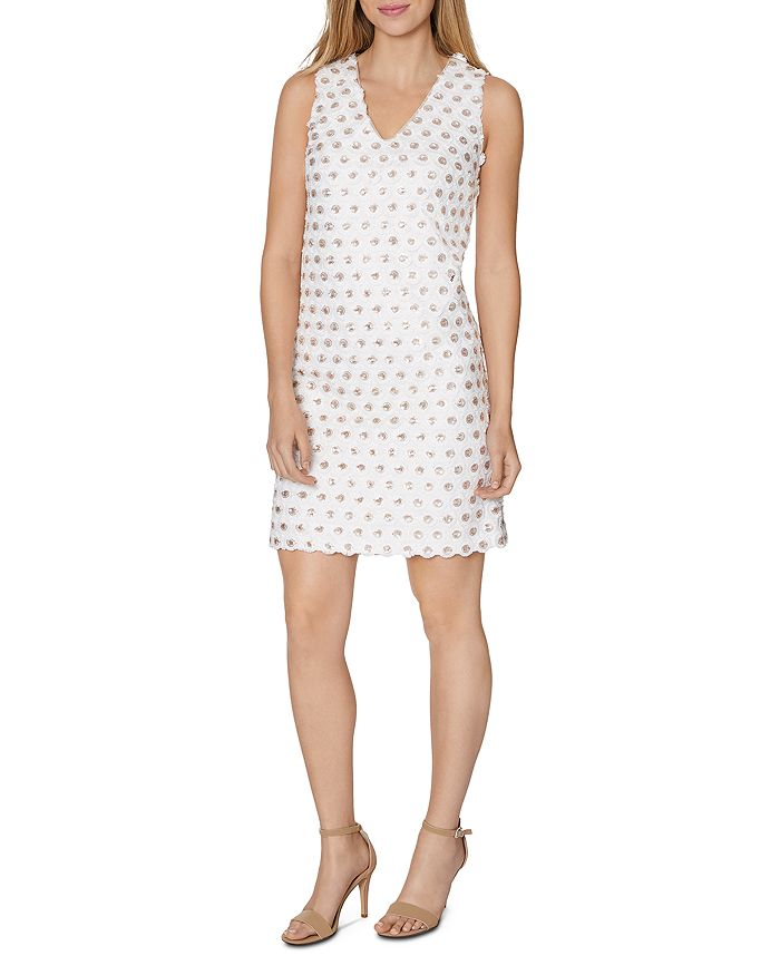 Laundry by Shelli Segal - Embellished Shift Dress