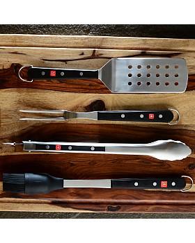 Wüsthof - 4-Piece BBQ Tool Set