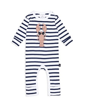 Huxbaby - Boys' Striped Lobster Coverall - Baby