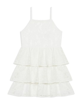 Bardot Junior - Girls' Cartia Tiered-Ruffle Lace Dress  - Little Kid