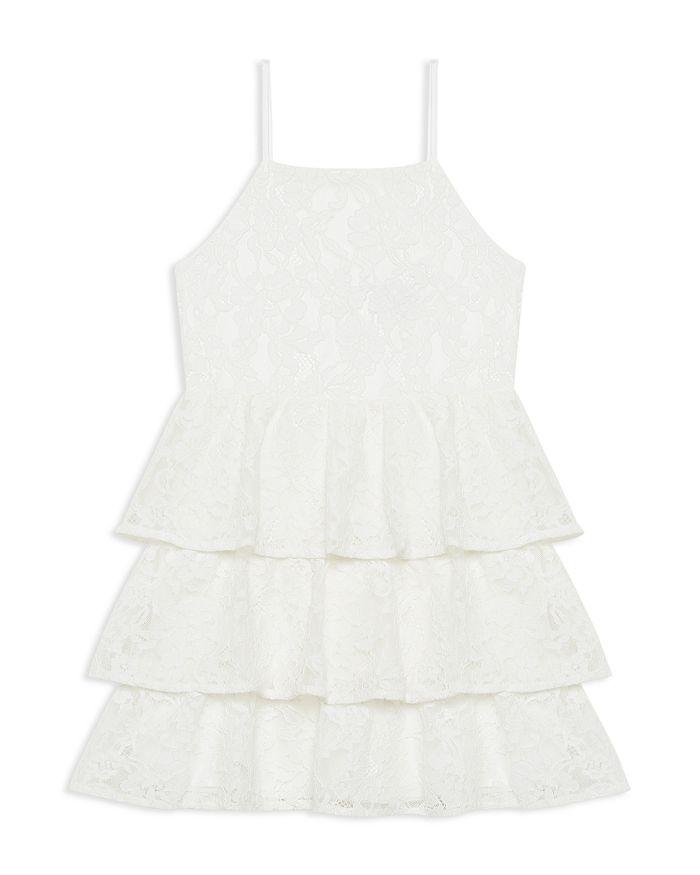 Bardot Junior - Girls' Cartia Tiered-Ruffle Lace Dress  - Little Kid