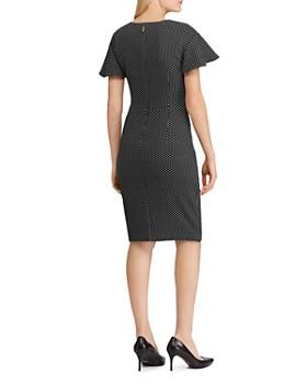 4afd1cd9a22 ... Ralph Lauren - Polka-Dot Jacquard Dress