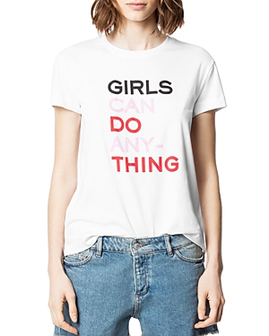 Zadig & Voltaire Tops WALK COOL GIRLS TEE