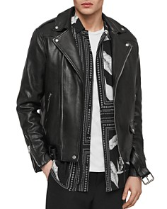 ALLSAINTS - Manor Leather Biker Jacket