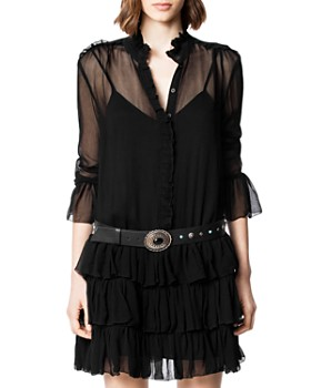 Zadig & Voltaire - Rebbie Ruffled Dress