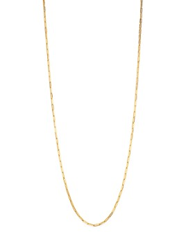 """Roberto Coin - 18K Yellow Gold Long Link Chain Necklace, 33"""""""