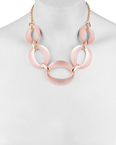 Alexis Bittar - Large Lucite Link Necklace, 16""