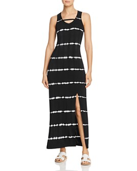 Marc New York - Tie-Dyed Jersey Maxi Dress