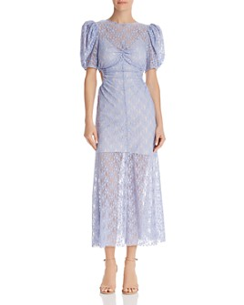 Alice McCall - On + On Lace Cutout Midi Dress