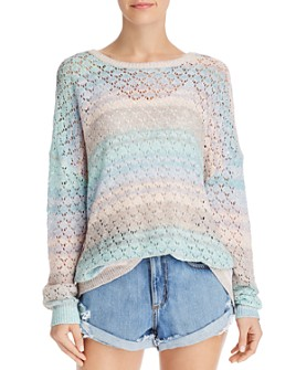 Show Me Your MuMu - Pie in the Sky Pointelle Sweater