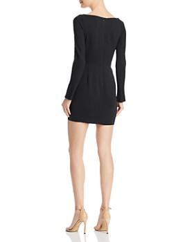 Michelle Mason - Cowl-Neck Mini Dress