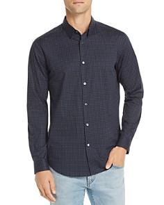 Theory - Sphere-Print Regular Fit Shirt