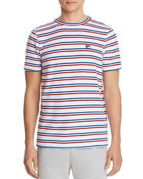 FILA - Lucio Striped Terry Cloth Tee