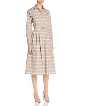 32f86b871e0c2 Max Mara - Elio Polka Dot Cotton Shirt Dress ...