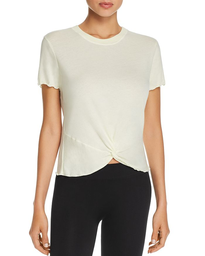Electric & Rose VILLAGE TWIST-FRONT TEE