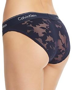 Calvin Klein - Modern Cotton Floral Logo Bikini