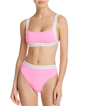 0f8a1fa473 Dolce Vita - Fast Lane Boxer Bikini Top & Fast Lane High-Waist Bikini Bottom