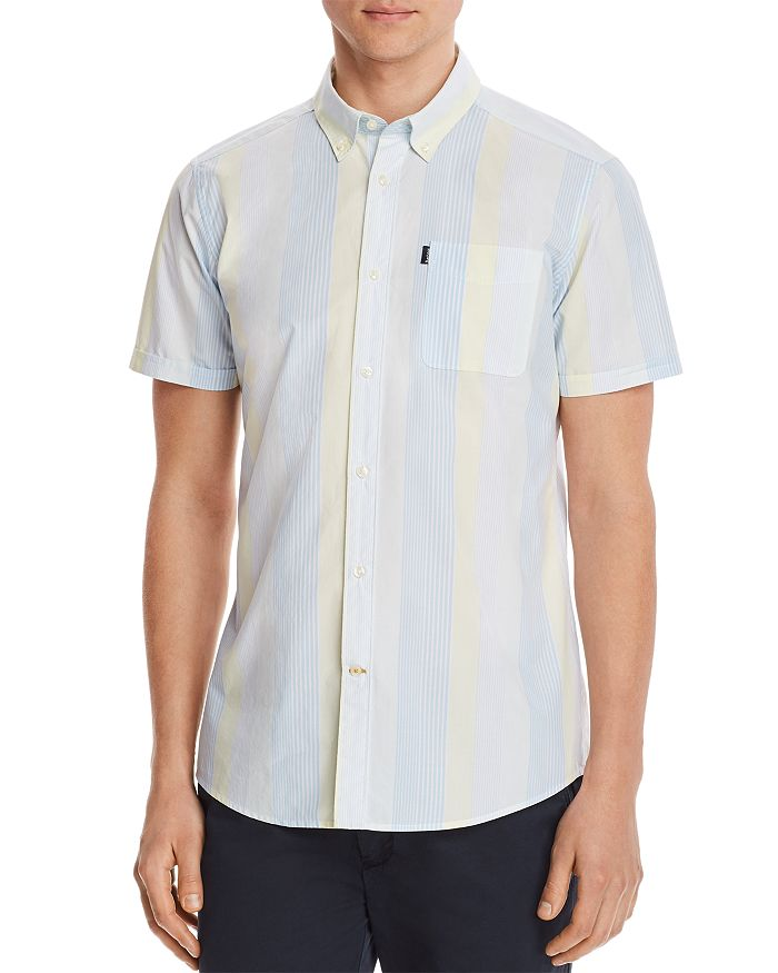 Barbour - Striped Short-Sleeve Classic Fit Shirt