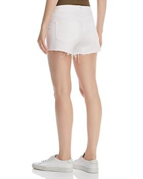 DL1961 - Renee Maternity Denim Shorts in Precision