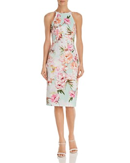 Black Halo - Montego Floral Sheath Dress