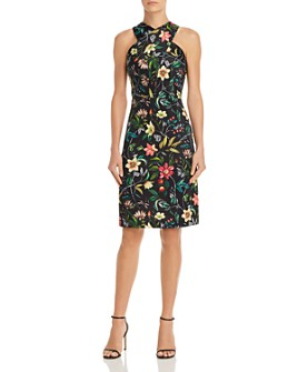 Sam Edelman - Floral Sheath Dress