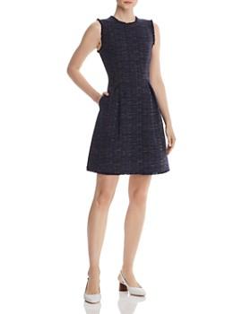 Rebecca Taylor - Rainbow Tweed Dress