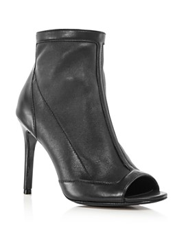 Charles David - Women's Courter Peep Toe High-Heel Booties