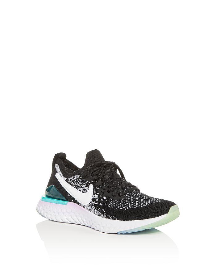 Nike - Boys' Epic React Flyknit Low-Top Sneakers - Big Kid