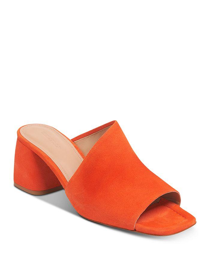 Whistles - Women's Arcade Asymmetric Block Heel Mule Sandals