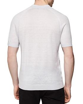 REISS - Frederick Regular Fit Button-Down Polo Shirt