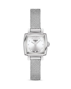 Tissot - Lovely Square Diamond Mesh Bracelet Watch, 20mm x 20mm