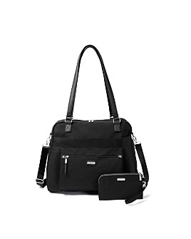 Baggallini - Overnight Expandable Laptop Tote with RFID Phone Wristlet